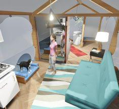 Congresso Nacional Moveleiro terá simulação de uma residência de 48 metros quadrados